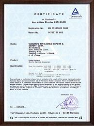 TUV、CE证书-4